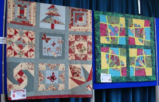 Dorothy Russell Quilt Workshops. Dawn Williams. Winner Holyhead Show.