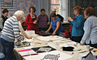 Workshops for Quilt groups. Dorothy Russell