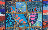 Magic Tile Quilt Workshop. Dorothy Russell
