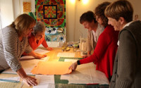 private tuition in Patchwork and Quilting. Dorothy Russell