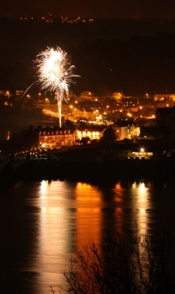 Berclas Holiday Cottage. bangor Fireworks