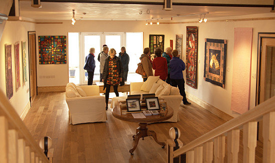 Anglesey Open Studios at Dorothy Russell's gallery