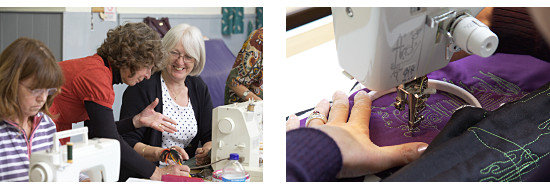 Dorothy Russell machine Quilting Workshop