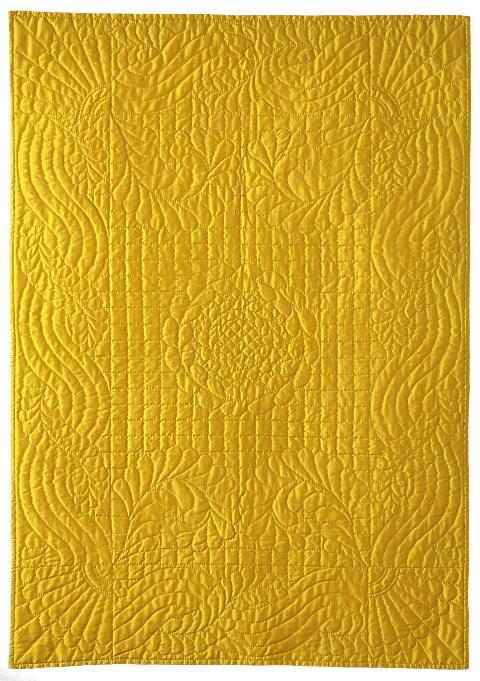 Durham Yellow Quilt Dorothy Russell Quilt Artist