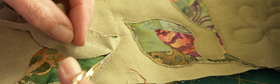 Reverse Applique Workshop. Dorothy Russell