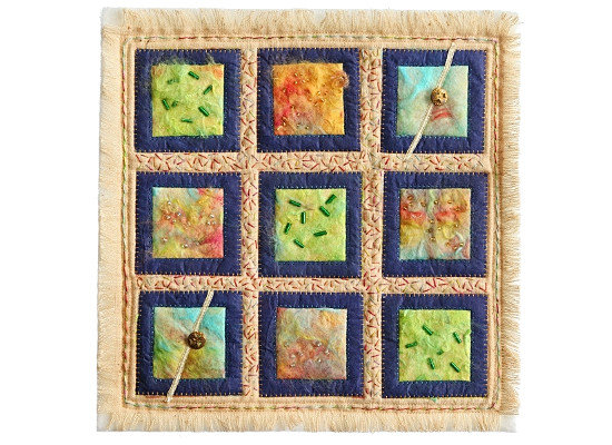 Dorothy Russell Quilt exhibition at Ucheldre Centre, Anglesey