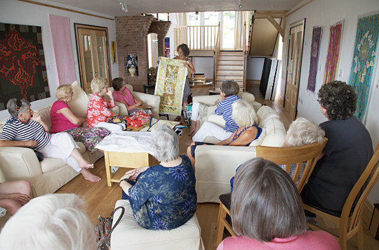 Coffee Morning and Show and Tell at Coed y Berclas