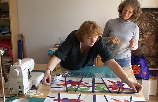 Magic Tile one to one workshop. Dorothy Russell