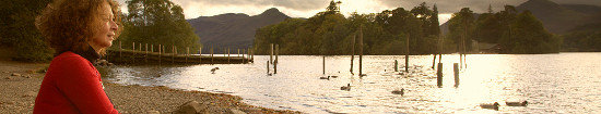 Dorothy Russell by Derwentwater