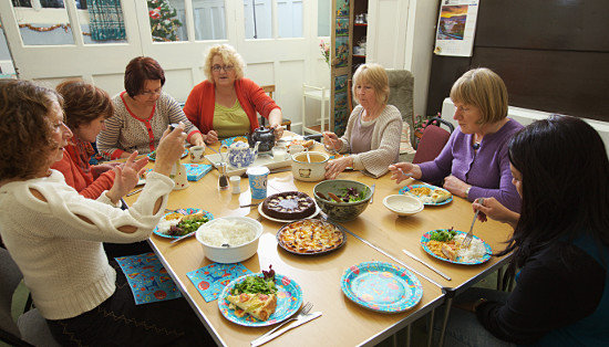 2013 Beginners group Pot luck lunch