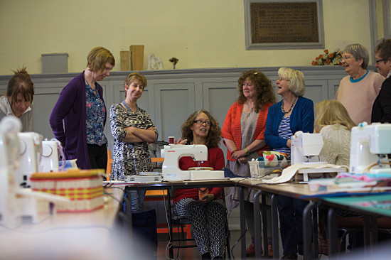 machine Quilting workshop by Dorothy Russell