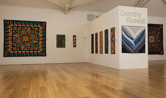 Dorothy Russell Textile Art Exhibition at Oriel Ynys Mon April-June 2015