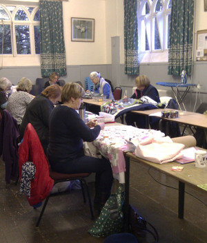 Dorothy Russell Beginners Quilting class 2015/16