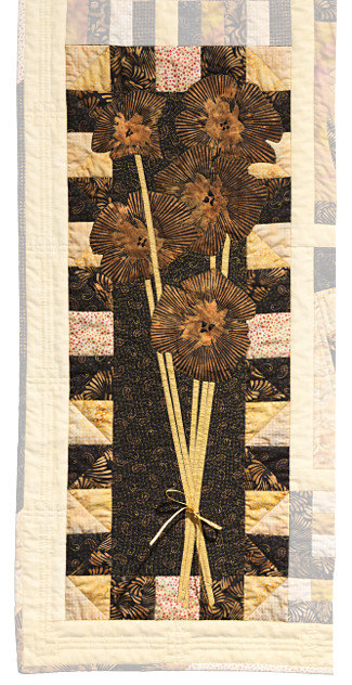 Sample  Beginners Quilt detail by Dorothy Russell