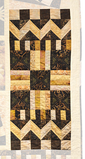 Sample Beginners Quilt detail, by Dorothy Russell