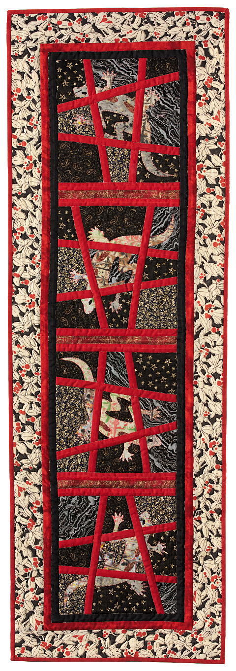 Dorothy Russell Quilt. Gecko 2