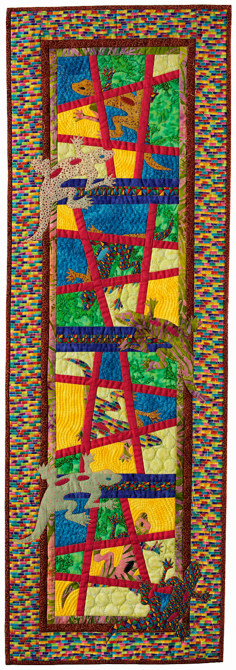 Dorothy Russell Quilt. Gecko 5