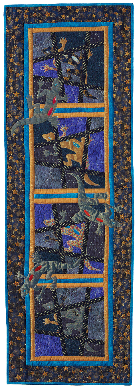 Dorothy Russell Quilt. Gecko 4